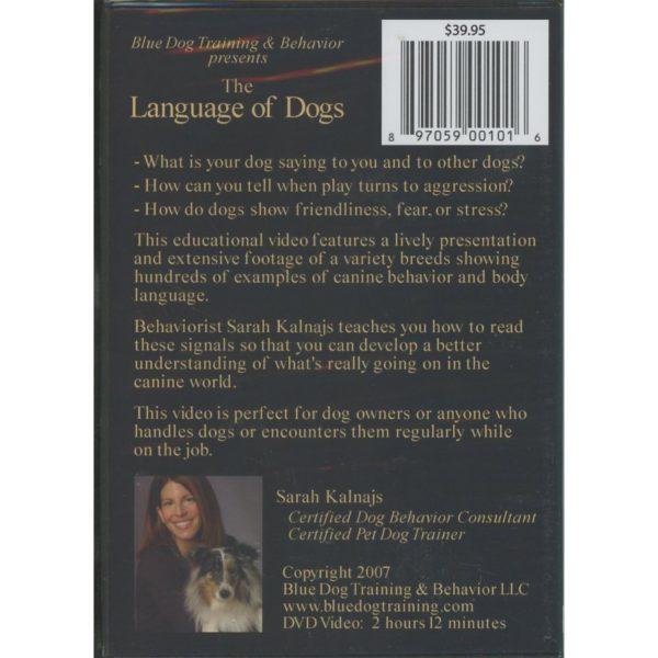 LANGUAGE OF DOGS bc