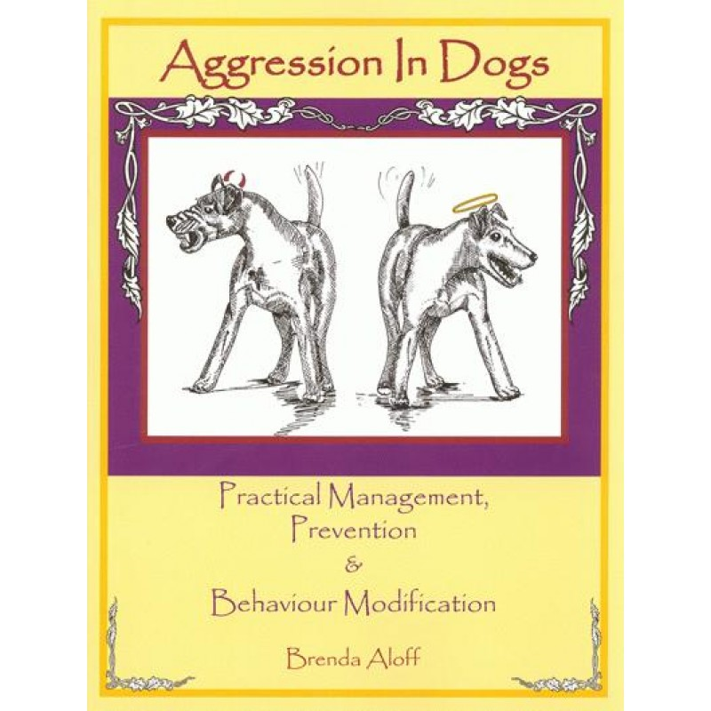 agression in dogs front cover