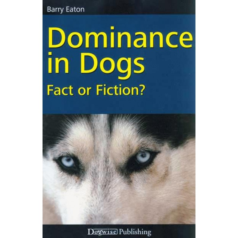 dominance in dogs front cover