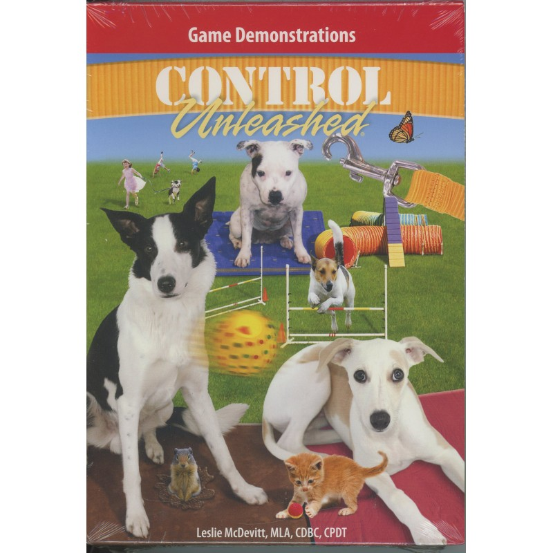 Control Unleashed Games DVD