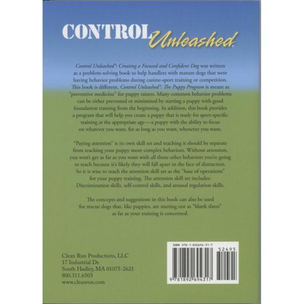control unleashed puppy program bk cvr