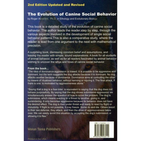 evolution of canine social behaviour bc