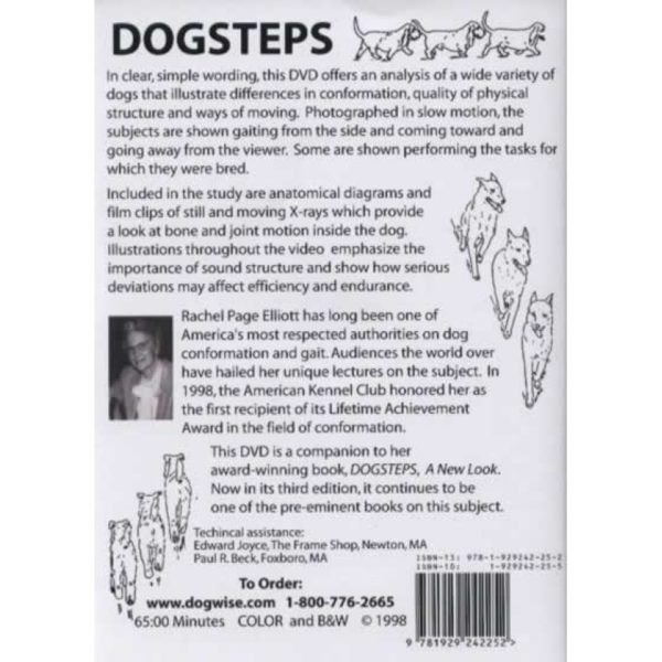 dogsteps dvd back cover