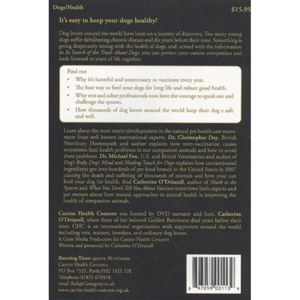 in search of the truth about dogs back cover