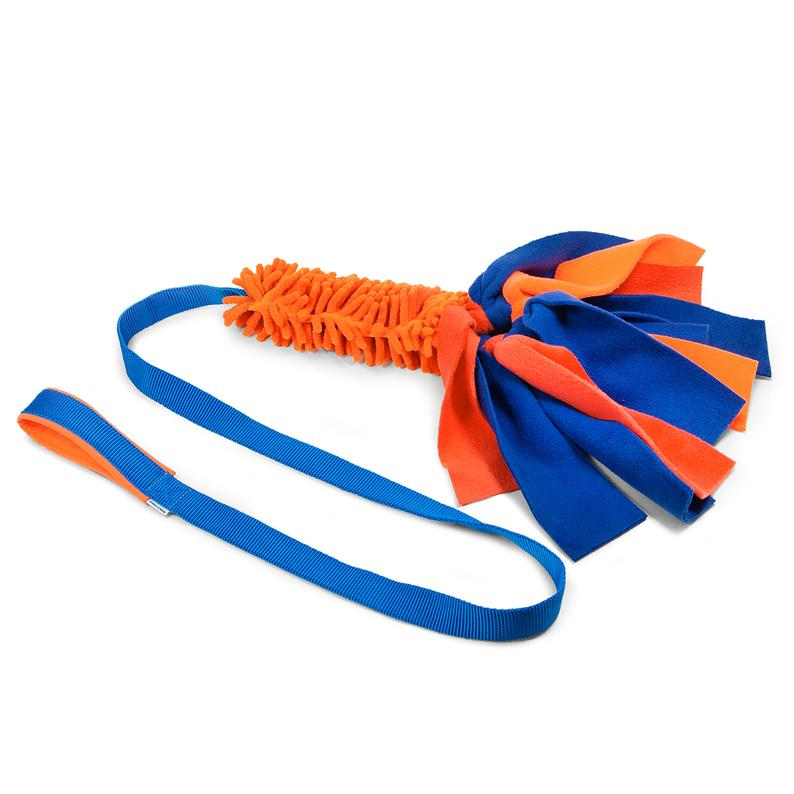 mop chaser with fleece strips